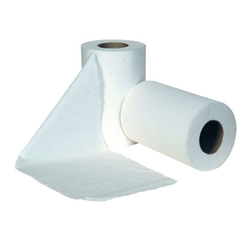 Mini Centrefeed Roll 60M, White 2 ply