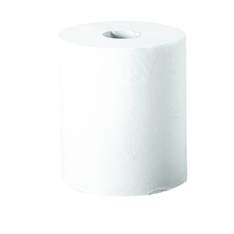 1ply White Centre Feed Shrink Wrapped roll (x6)