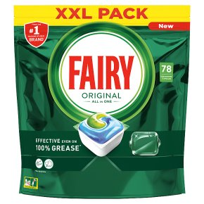 Fairy All in 1 Dishwash Tablets x84