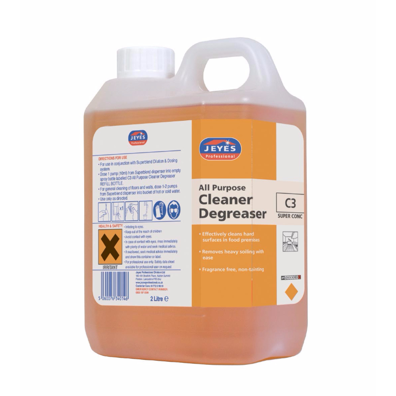 Jeyes C3 All Purpose Cleaner and Degreaser