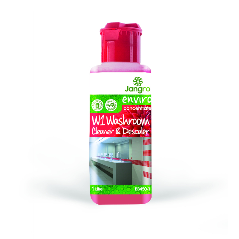 Jangro Enviro Concentrate W1 Washroom Bactericidal Cleaner 1L