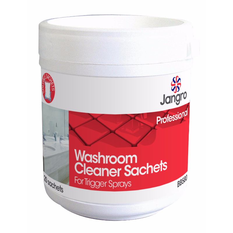 Washroom Cleaner Sachets for Trigger Sprayer
