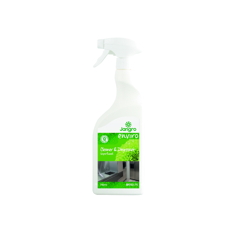 Jangro Enviro Unperfumed Cleaner and Degreaser 750ml