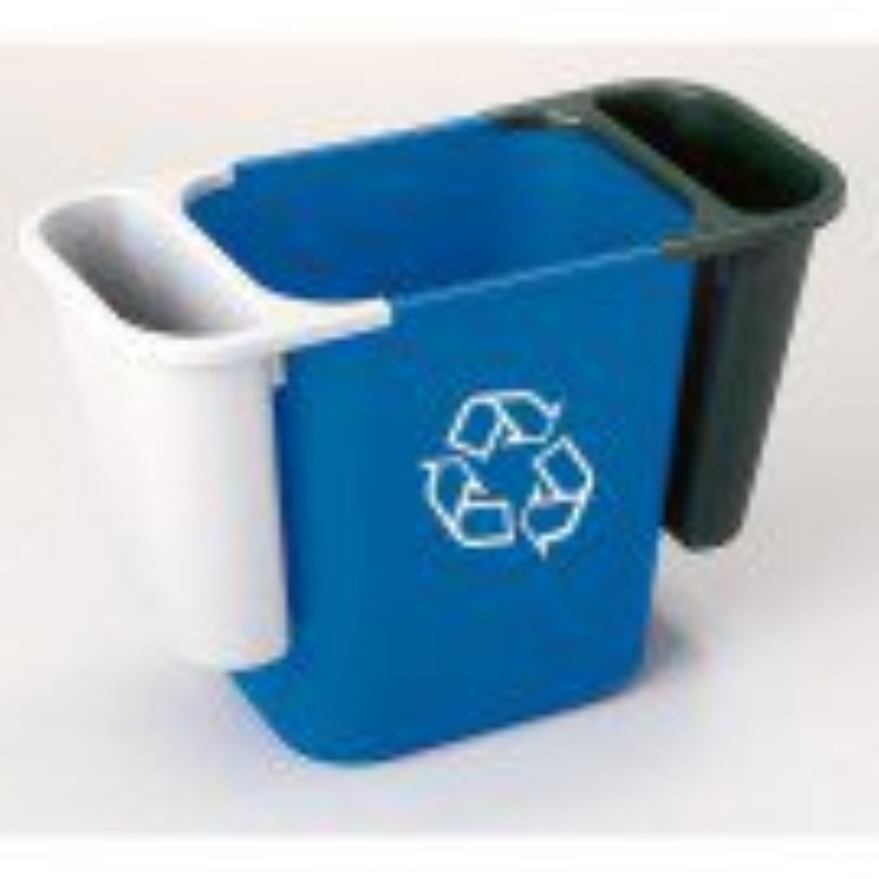 Deskside Waste Black Side Bin Only (Does not include Blue or Grey Bins)