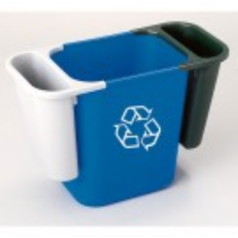 Deskside Waste Side Bin Grey (Does Not Include Blue or Black Bins)