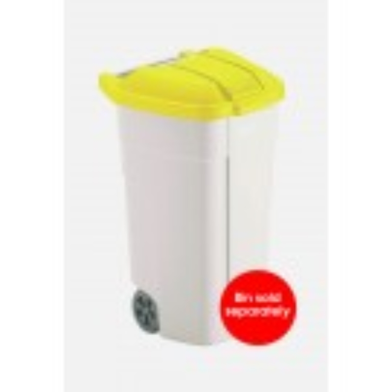 Mobile Wheelie Waste Container Lid (Yellow Only for CB340)