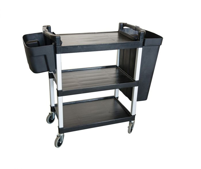Service/Catering Cart Black #