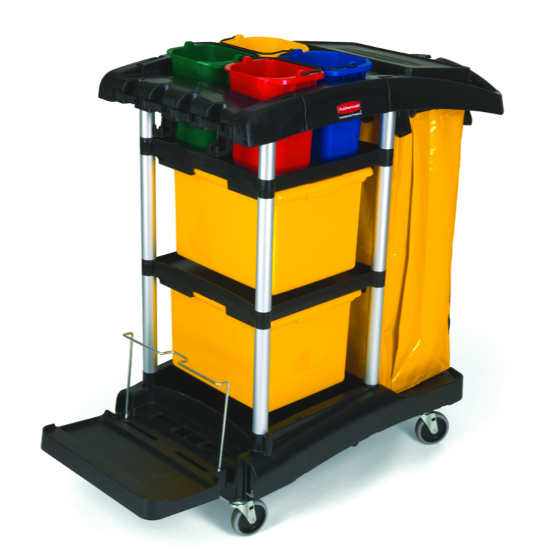 Hygen Office/Retail Trolley # Rubbermaid