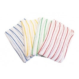 Striped Dishcloths Red
