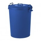 Colour Coded Food Grade Dustbin 110 Litre (Blue)