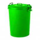 Colour Coded Food Grade Dustbin (Green)