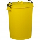 Colour Coded Food Grade Dustbin (Yellow)