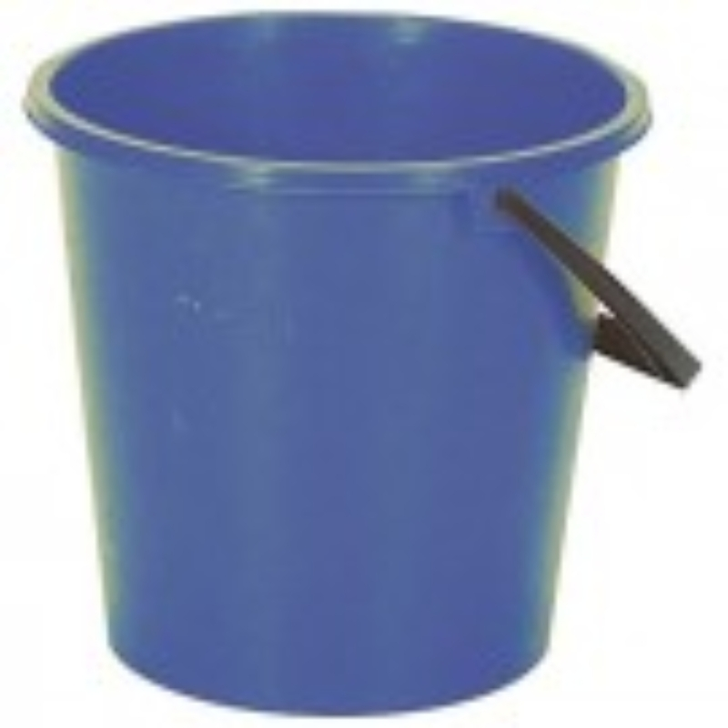 2 Gallon Round Bucket - Blue