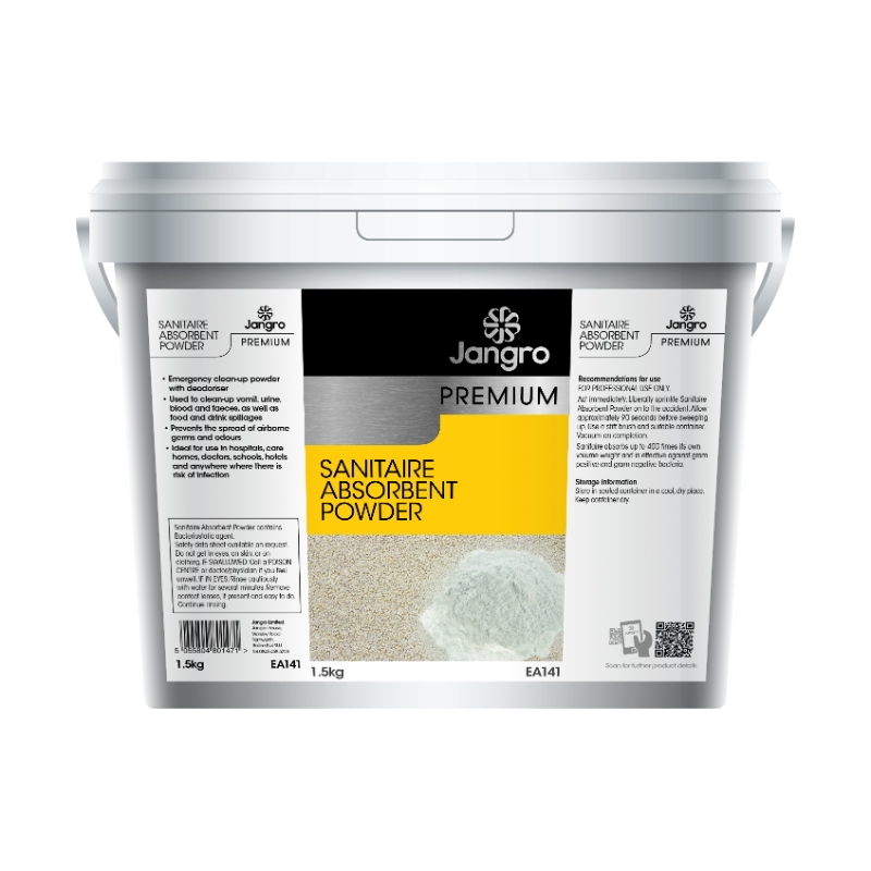 Sanitaire Tub Emergency clean up absorbent powder 1.5kg