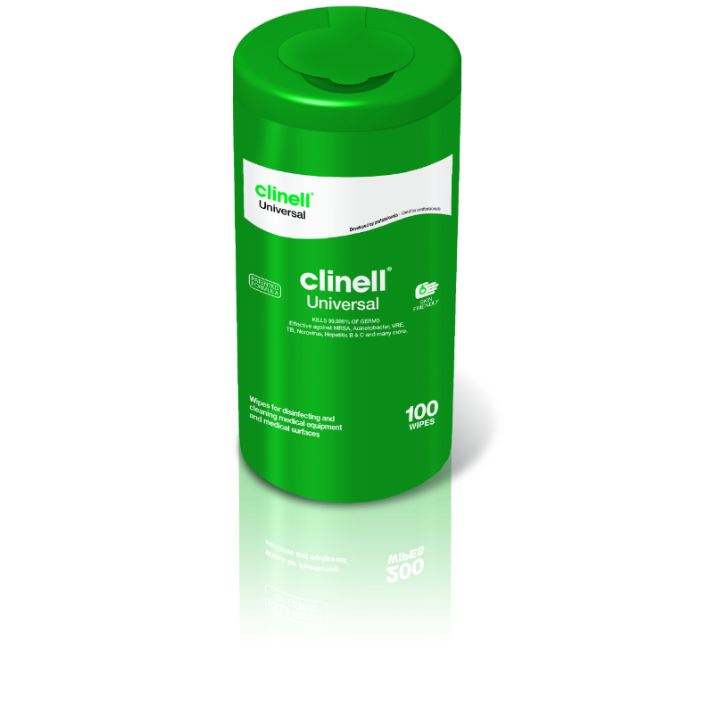 Clinell Universal Sanitising Wipes