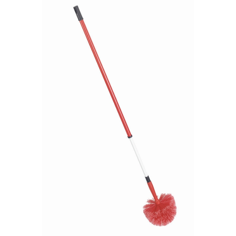 Domed Cobweb Brush Tele Hndl (with telescopic handle)