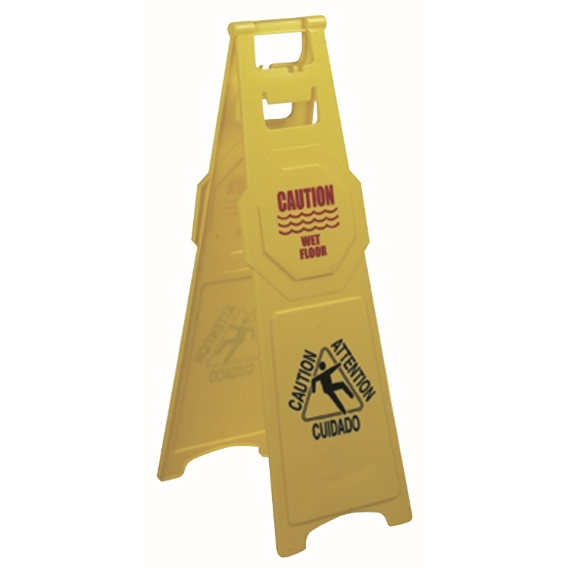 A frame High Profile Safety Sign - Caution Wet Floor
