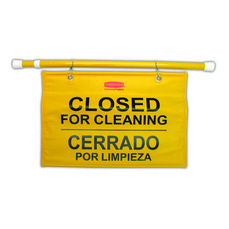 'Closed for Cleaning' Hanging Sign