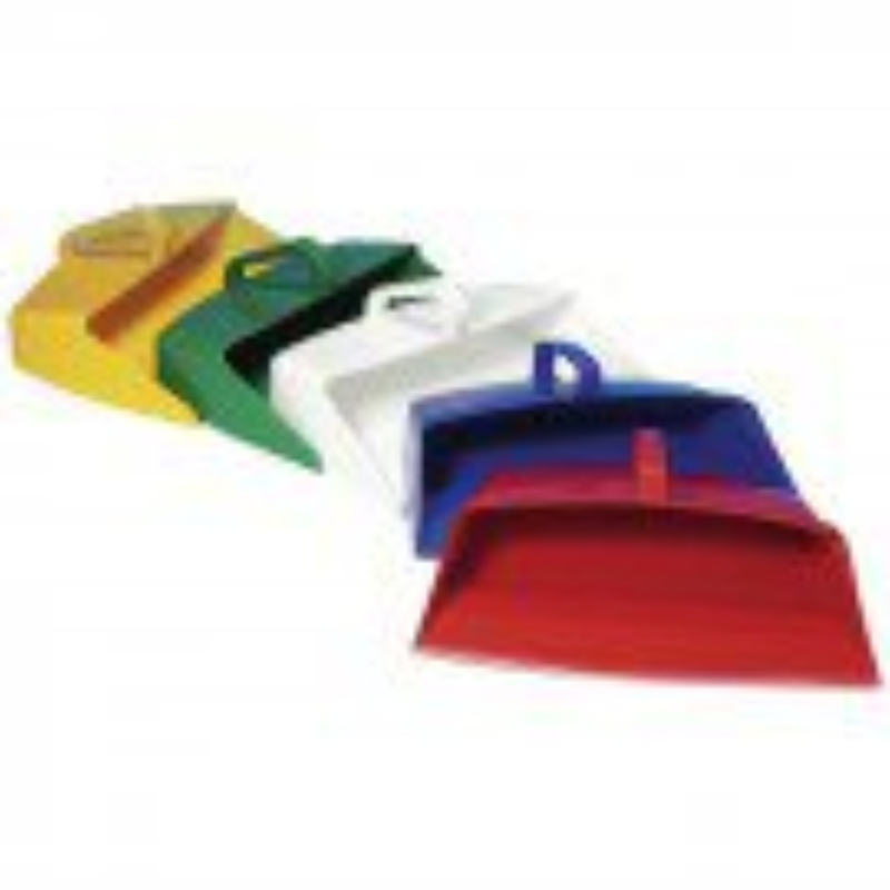 Closed Lightweight Dustpan Red
