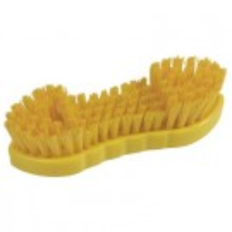 Hygiene Double Winged Scrubbing Brush 209mm Yellow