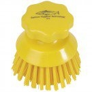 Round Hand Scrubbing Brush Yellow