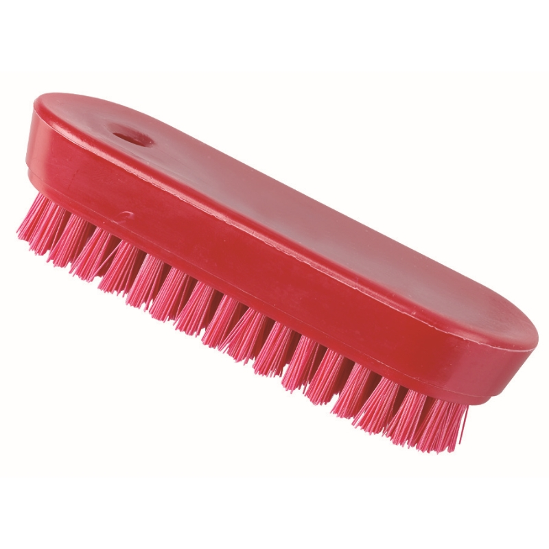 Hygiene Nail Brush, Red