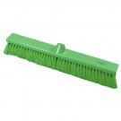 Premier Flat, Stiff Sweeping Broom in Green 500mm