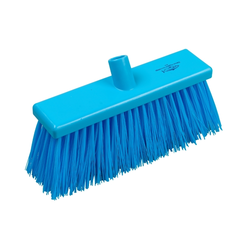 Blue Yard Broom (Stiff, 300mm)
