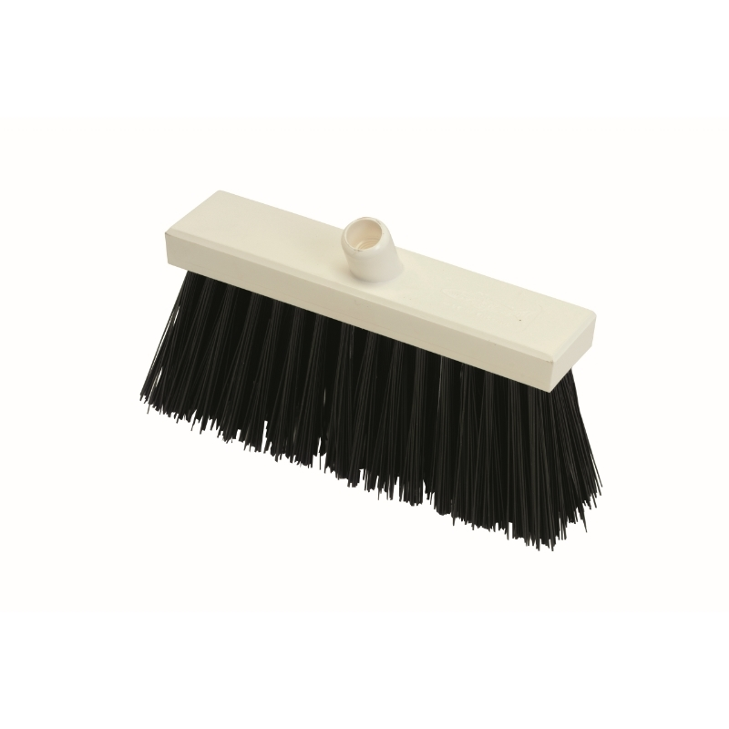 Black Yard Broom (Stiff, 300mm)