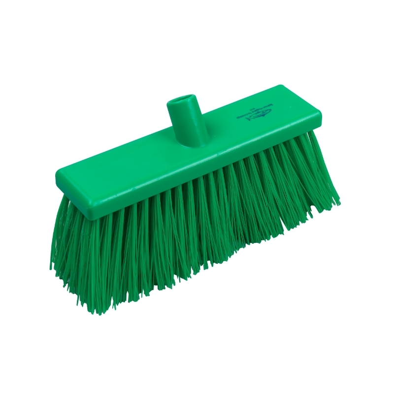 Yard Broom Stiff 300mm Green #