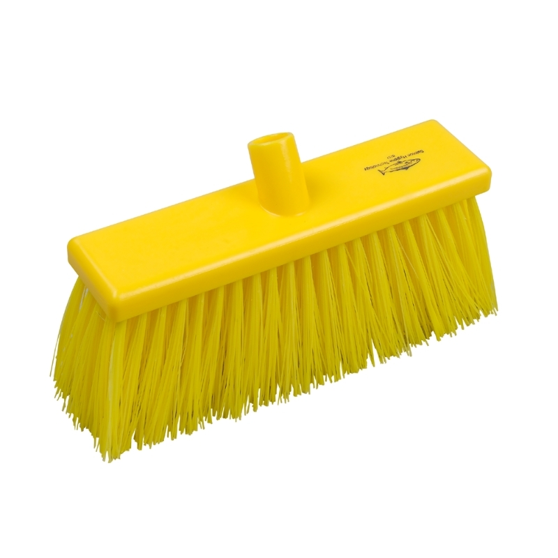 Yard Broom Stiff 300mm Yellow#