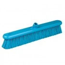 Soft Blue Platform Broom Head, Medium