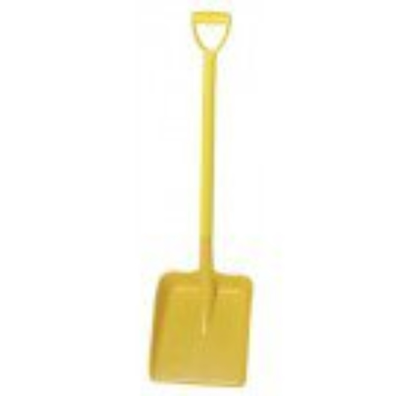Yellow Heavy Duty D Grip Hygiene Shovel