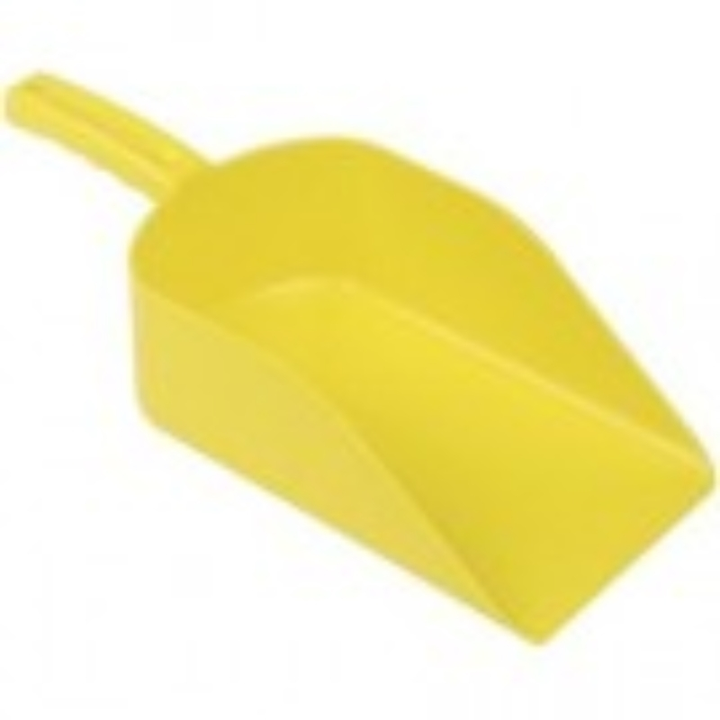 Yellow Hygiene Plastic Scoop