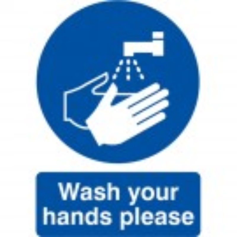Wash your hands please 210x148 Rigid