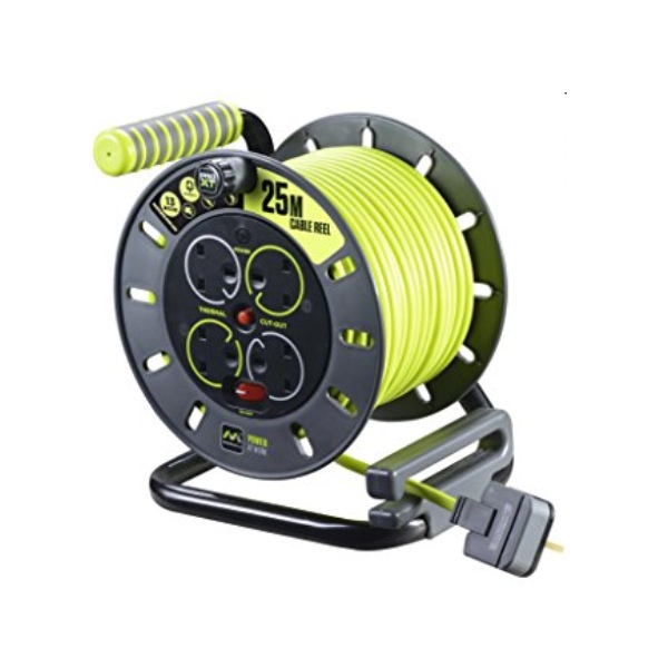 25 Metre Open Cable Reel