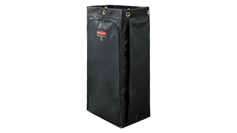 Rubbermaid 34 Gallon Vinyl Replacement Bag Black#