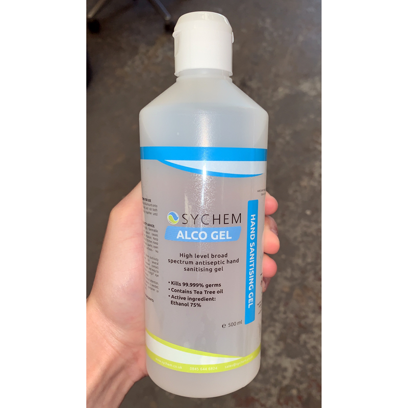 Alcohol Hand Gel 500ml