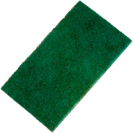 Vileda Heavy Duty Scourer Green x10 6x9