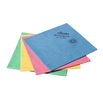 Vileda MicronQuick Microfibre Cloths - RED